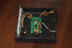 Zegar LED - PCB w obudowie