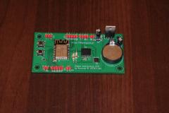 Zegar LED - płytka PCB (top)