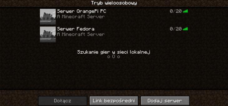 Własny serwer Minecraft