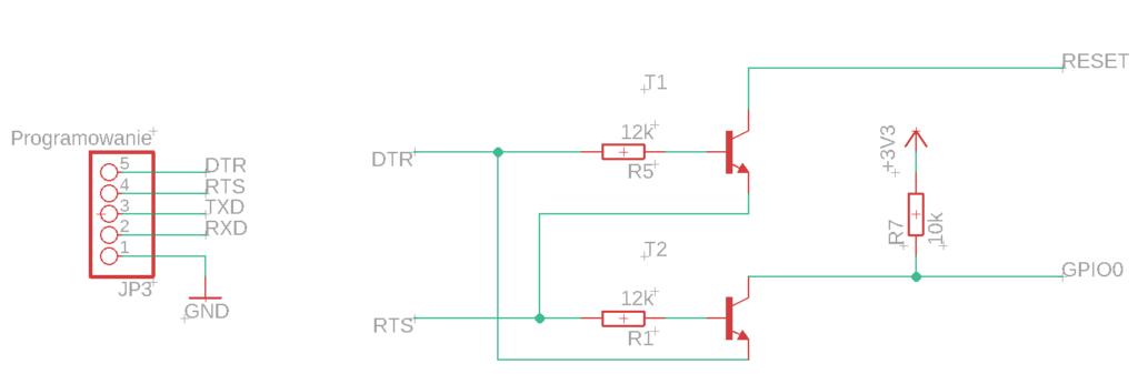 Układ programowania i automatycznego resetu